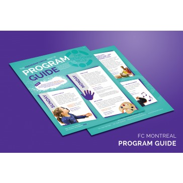 Friendship Circle Program Guide (2-Sided)