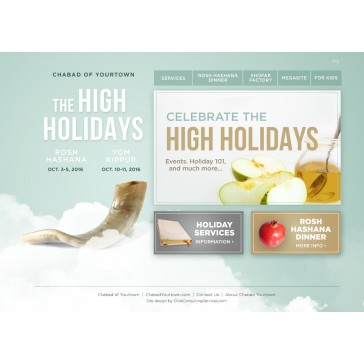 High Holidays Minisite