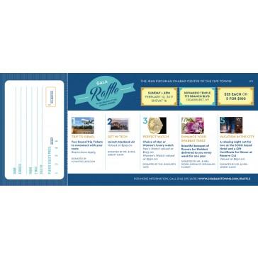 Raffle Fundraiser Booklet