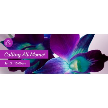 Calling All Moms Web Banner