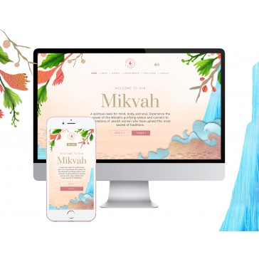 Mikvah Website or Minisite