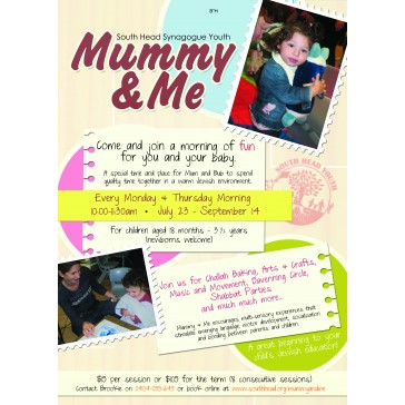 Mommy and Me Flyer