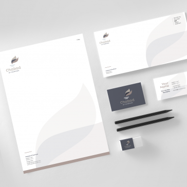 Chabad Logo + Branding Package Option 3