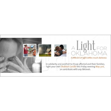 A Light for Oklahoma Webpage Header