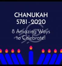 Celebrate Chanukah Social Media Post