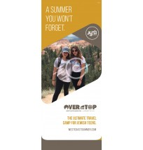Retractable Banner:  Summer Camp
