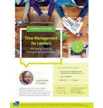 Time Management Flyer