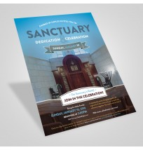 Sanctuary Dedication Flyer