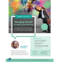 Managing Yourself Flyer