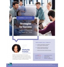 Strategies for Success Flyer