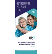 Retractable Banner: Teen Volunteer Program
