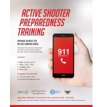 Active Shooter Preparedness Training Flyer