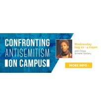 Confronting Antisemitism Web Banner