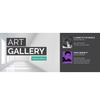 Art Gallery Web Banner