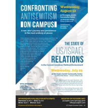 Confronting Antisemitism Lecture Flyer
