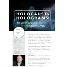 Holocaust & Holograms Lecture Flyer