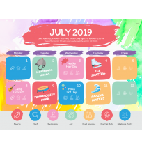 Camp Calendar