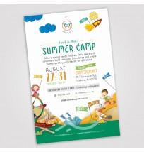 Camp Gan Israel Postcard - 1 Side