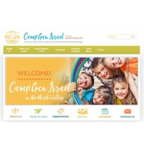 Camp Gan Israel CGI Homepage Design