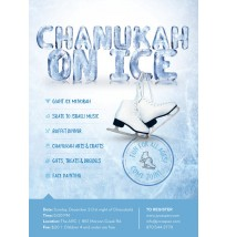 Chanukah on Ice Flyer