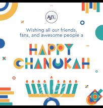 Happy Chanukah Social Media Post