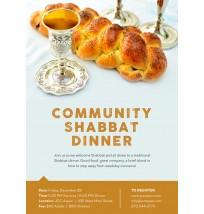 Shabbat Dinners Flyer 2