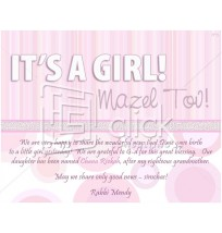 It's a Girl Email Design 2