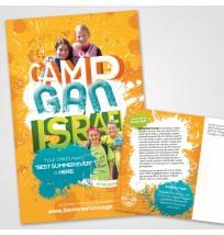Camp Gan Israel Mailer 3 - 2 Sides