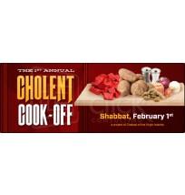 Cholent Cook-off Promo