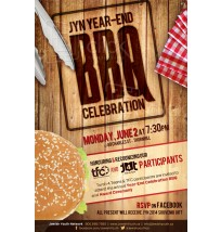 End of Year BBQ Email