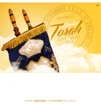 Simchat Torah Facebook Ad