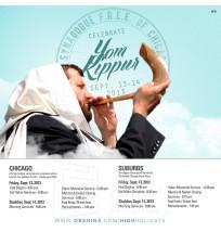 Yom Kippur Facebook Ad