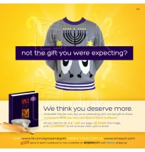 Chanukah Giveaway Facebook Ad