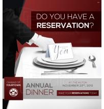 Dinner Advertisement Email 1