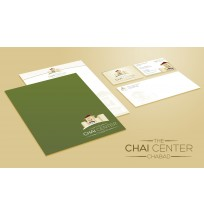 Chai Center Stationery & Business Cards