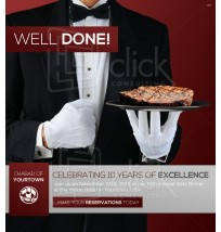 Dinner Advertisement Email 3