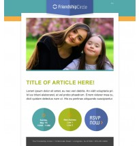 Friendship Circle Email Template 1