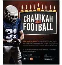Chanukah and Football