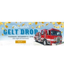 Chanukah Gelt Drop Web Banner 2