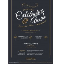 Year End Celebration & Award Email