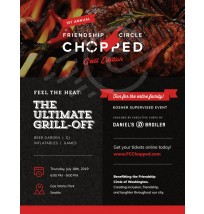 Grill-off Flyer