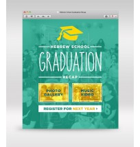 Hebrew School Graduation Email