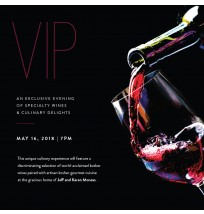 VIP Wine Event Invitation