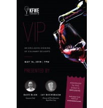 VIP Wine Event Flyer