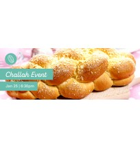 Challah Event Web Banner