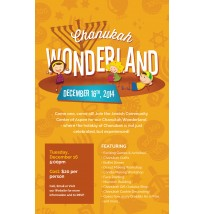 Chanukah Wonderland Flyer