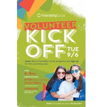Volunteer Kickoff Postcard