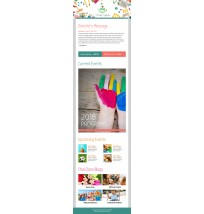 Preschool Email Template