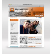 Chabad Weekly Email Template 3