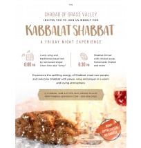 Kabbalat Shabbat Email/Social Post
